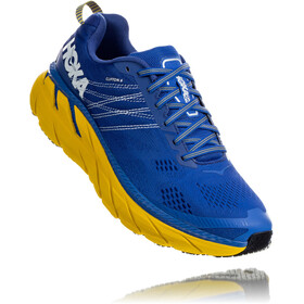 Hoka One One Clifton 6 Running Shoes Herrer, nebulas blue/lemon